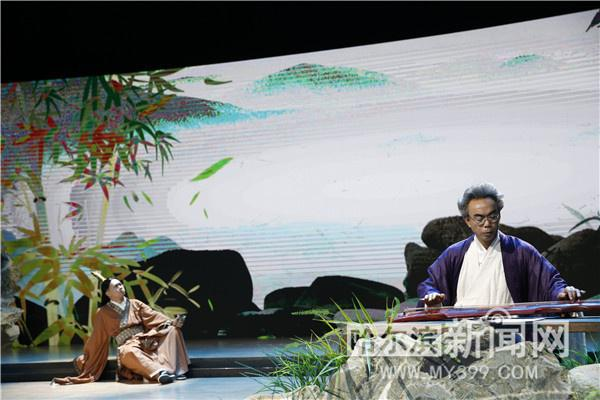 一把古琴穿越汉唐时期《礼乐诗篇琴礼》16日在大剧院上演